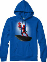 Deadpool Hoodie,Spiderman Lion King Spoof,Marvel Comics Adult and kids Sizes