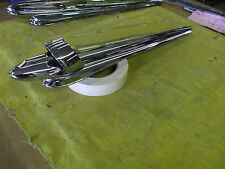 1947 Chevy accy  hood ornament ORIG NEWLY [triple] PLATED L@@@@@@@@K