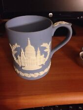 The Wedgewood Christmas Mug 1972 Blue/white Great Condition