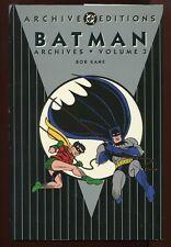 Batman Archives - Volume 3 - Detective Comics #71 - 86 - Bob Kane 1St Ed Nm/M