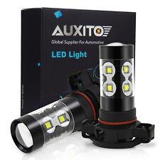 2x H16 9009 super bright 2400LM CREE LED Fog Light Bulb 6000K White car lamp XBD