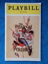 The Pirates Of Penzance - Uris Theatre Playbill - January 1981 - Kevin Kline