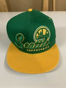 Seattle Supersonics NBA New Era 9Fifty Snapback Cap Hat - Hardwood Classics