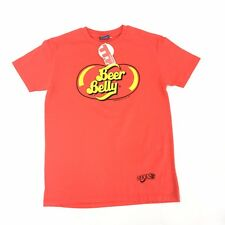 THE T SHIRT PROJECT Beer Belly Red T-shirt Spoof M New