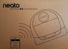 Neato 945-0289 BotVac D3 Connected Robot Aspirador D308, Forma D, blanco -