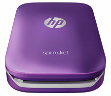HP Sprocket 100 Z9L25A Mobile Bluetooth Inkless Printer Android Apple Purple