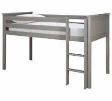 Brooklyn Mid Sleeper Bed Frame - Grey