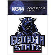 Georgia State Panthers Logo NCAA Die Cut Vinyl Car Sticker Bumper Window