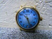 Vintage wrist watch RAKETA, USSR / USSR, in a gilded case
