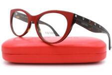 Valentino VA 3033 Eyeglasses Red Dark Havana 5123 Authentic 52mm
