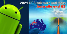 Gps software with 2021 Australia & Nz Maps for Android Car Indash stereo system