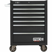 Homak 27in Pro Ii 7-Drawer Rolling Tool Cabinet 9115 Cu In of Storage 27inW Blk