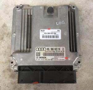 Audi A4 B8 8K 08-16 2.0 TDI Engine Control Unit ECU 03L906022MK LOG