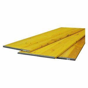 Schalungstafeln 150 x 50 cm gelb Schaltafel Schalung auf Palette Schalungstafel