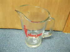 Slim Jim Glass Pitcher