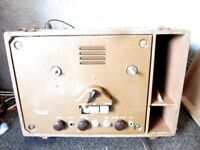 Operadio 11A55 Tape Recorder TUBE AMP IN ORIGINAL CARRY CASE