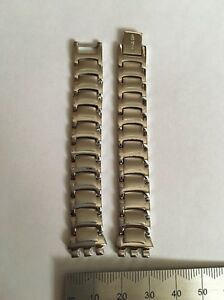 033 Swatch 12mm Ladies Small watch strap Steel 'Untreated'