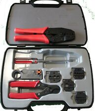 Crimp Tool Kit for LMR-100, LMR-195, LMR-240, LMR-400, Includes Dies/Stripper