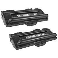 2pk Black Laser Toner Cartridge for Samsung ML-1710D3 ML1710 ML-1500 ML-1510