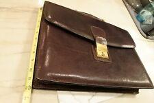 Joseph Daniel Vintage Leather Executive Business Laptop Briefcase Bag Mens