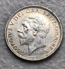 GREAT BRITAIN 1 SHILLING SILVER 1927 CH AU GEORGE V