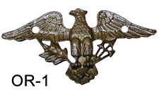 New Eagle Decorations for Clocks, Furniture, Crafts, etc. - Choose from 3 Styles