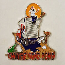 GRATEFUL DEAD - ON THE ROAD AGAIN - HAT PIN - BRAND NEW - BAND HP032