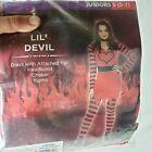 Lil' Devil Halloween Costume Juniors Size S 5-7  Cosplay New c1