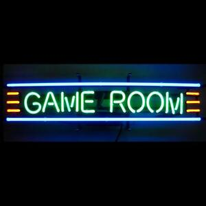 GAME ROOM NEON SIGN - IN-STORE PICKUP ONLY