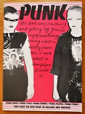 ISABELLE ANSCOMBE - PUNK: ROCK/STYLE/STANCE/PEOPLE/STARS 1978 1ST EDITION - FINE