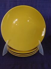 Martha Stewart WHIM Lemon Zest SALAD PLATE 1 of 4 have more items to set Yellow