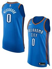 $200 NIKE OKC THUNDER RUSSELL WESTBROOK ICON NBA AUTHENTIC JERSEY 863033-403 58