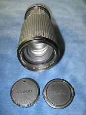 Per CANON: Tokina RMC 1:5.6/100-300mm Tele-Zoom One-Touch/MONOCOMANDO Zoom FD-Mount