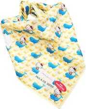 Sanrio Hello Kitty Paul & Joe Sister Japan Kitty & Whale Print Handkerchief-50cm