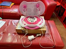 Hello Kitty Cd/Karaoke System Kt2003B Complete & Fully Tested Excellent Shape