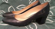 Michael Kors Womens  patent Leather Pointed Toe Classic, Blue  Size 8.5 M