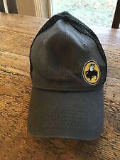 Buffalo Wild Wings Hat Gray Black Adjustable