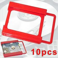 10X SSD Notebook 2.5 to 3.5'' Adapter Bracket Mounting Hard Drive Disk Holder L&