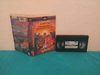The land before time II / Petit-pied  dinosaure  2 VHS tape & clamshell  FRENCH