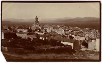 Saint Tropez Francia Panorama, Vintage Stampa Aristotipia, Circa