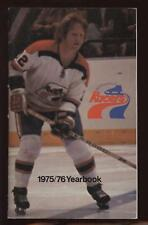 1975/76 Indianapolis Racers Yearbook EXMT