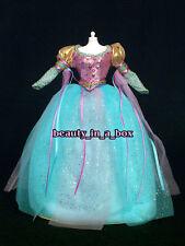 Renaissance European Princess Aqua Gown Fashion for Barbie Doll Q
