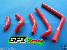 HONDA CR250 CR 250 03 04 05 06 07 08 2003 2004 2005 Silicone Radiator Hoses RED