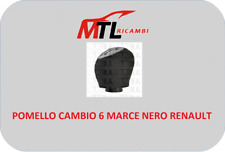 POMELLO CAMBIO 6 MARCE NERO RENAULT MEGANE 3 III - FLUENCE