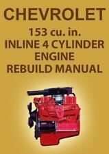 CHEVROLET 153 4 CYLINDER ENGINE MANUAL