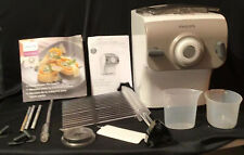 Philips Avance  HR2357/05 White Automatic Pasta Maker W 4 Disc In Original Box