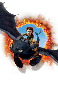 How To Train Your Dragon 2 Giant Poster - A0 A1 A2 A3 A4 Sizes