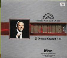 The Very Best of Andy Williams 25 Original Greatest Hits CD HDCD NEW