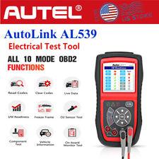 Autel Autolink AL539 OBD2 Code Reader Auto Diagnostic Tool Charging System Test