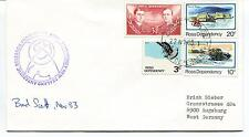 1983 New Zealand Antarctic Research Programme Ross Dependency Polar Cover SIGNED